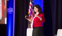 robin avelar la salle speaks at nsba's 2020 equity symposium